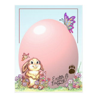 Letter From The Easter Bunny Personalized Letterhead
