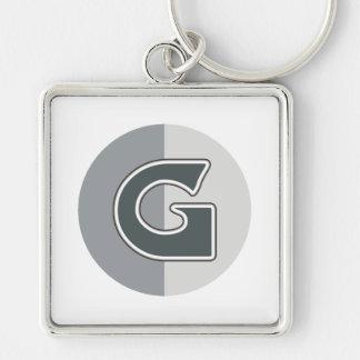 Letter G Keychain