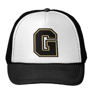 """Letter """"G"""" Monogram Trucker Hat"""