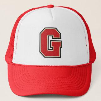 Letter G Monogram Trucker Hat