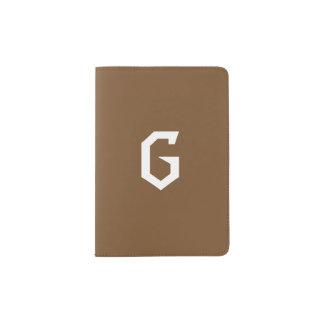 Letter G Passport Cover