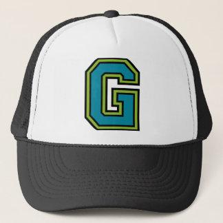 """Letter """"G"""" Trucker Hat"""