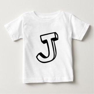 Letter J Baby T-Shirt