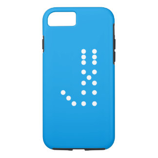 Letter J Dice iPhone 7 Case