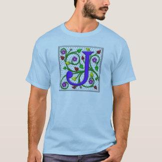 Letter J Ornamental II T-Shirt