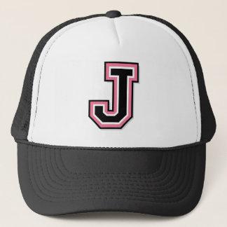 """Letter """"J"""" Trucker Hat"""