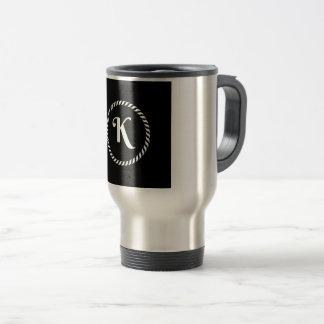 Letter K Travel Mug
