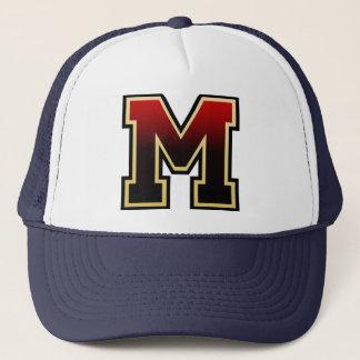 "Letter ""M"" Initial Trucker Hat"