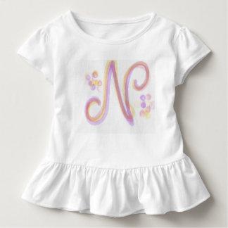 Letter N Baby's Dress