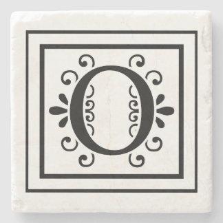 Letter O Monogram Stone Coasters Stone Coaster