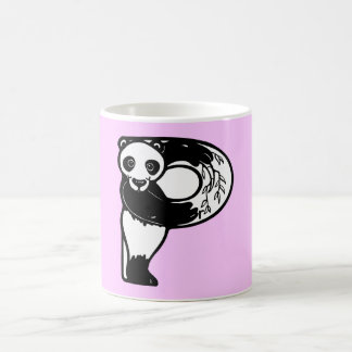 Letter P is for Panda Bear Monogram Initial Mug