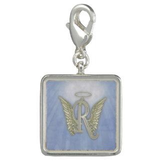 Letter R Angel Monogram Charms