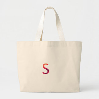 "Letter ""s"" stands for smart large tote bag"