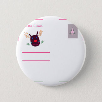 Letter to Santa I 2 Inch Round Button