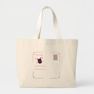 Letter to Santa I Large Tote Bag