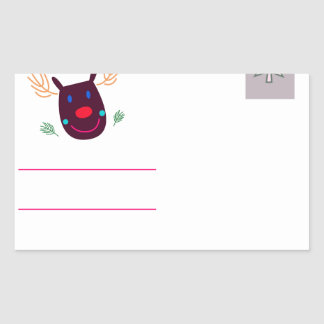 Letter to Santa I Sticker