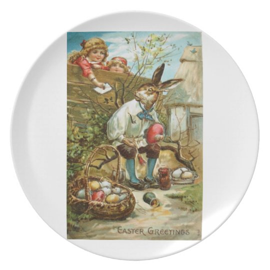 Letter to The Easter Bunny Plate