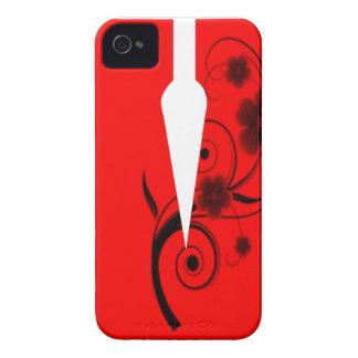 Letter V Flower iPhone 4 Case