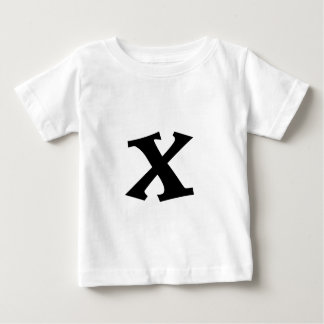 Letter X_large Baby T-Shirt