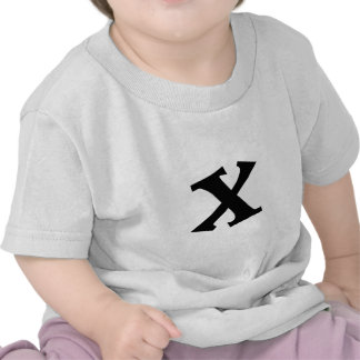 Letter X_large Tees