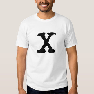 Letter X T-shirts