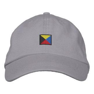 Letter Z Embroidered Baseball Cap
