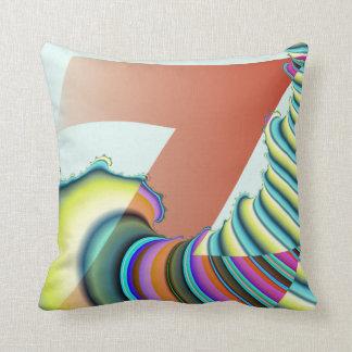 Letter Z Monogram Throw Pillow