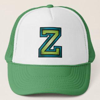 Letter Z monogram Trucker Hat