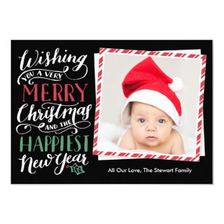Lettered Christmas Collection Card
