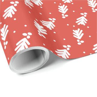 Lettered Joyful Holiday Gift Wrap