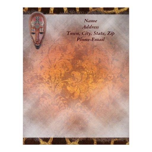 Letterhead African Design