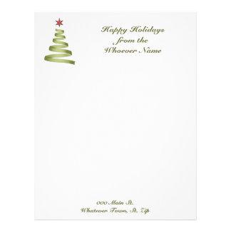 Letterhead Business Holiday Christmas Letterhead