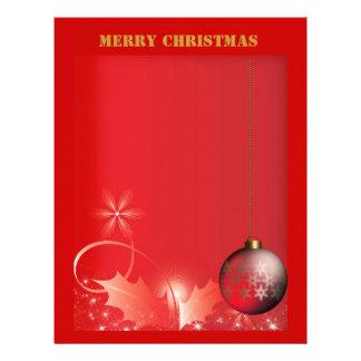 Letterhead Merry Christmas