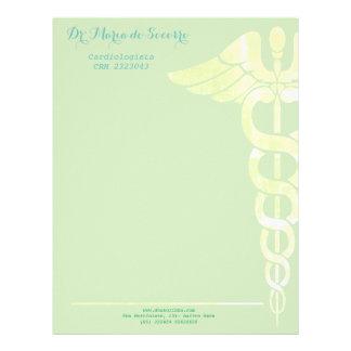 Letterhead paper medicine