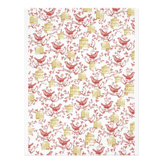Letterhead To Design - Small birds and Cages
