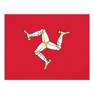 Letterhead with Isle of Man Flag, United Kingdom