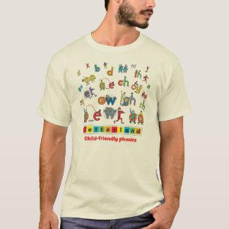 Letterland | Men's T-Shirt Full Colour