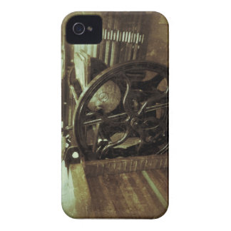 letterpress in studio grunge Blackberry bold case