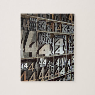 Letterpress Jigsaw Puzzle