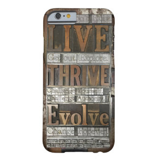 Letterpress phone case Brian Krans Quote