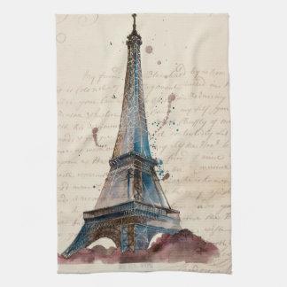 Letters from Eiffel Kitchen Towel