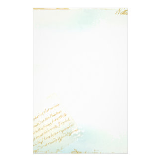 Letters from Paris Stationery in Blue