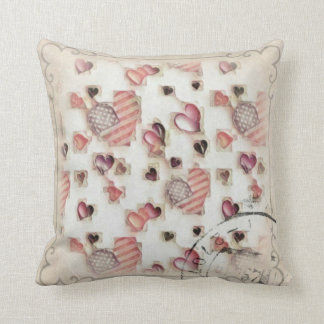 Letters Home Throw Pillow