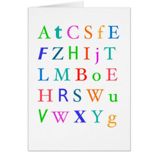 Letters in the Mail 2 Card