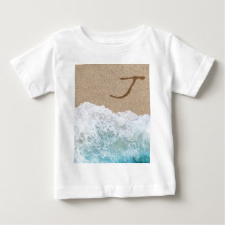 LETTERS IN THE SAND J BABY T-Shirt