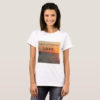 Letters of Forgiveness T-Shirt size Medium