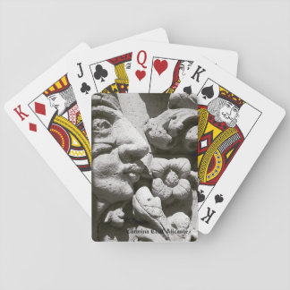 Letters of poker Alicante stone Playing Cards