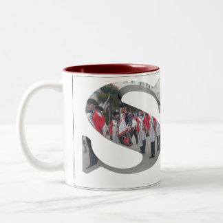 Letters - S - Soldiers Two-Tone Coffee Mug