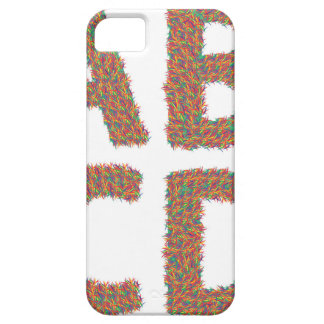 letters set iPhone 5 cover