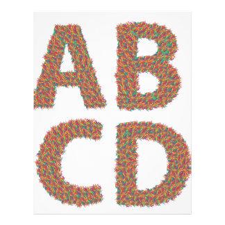 letters set letterhead